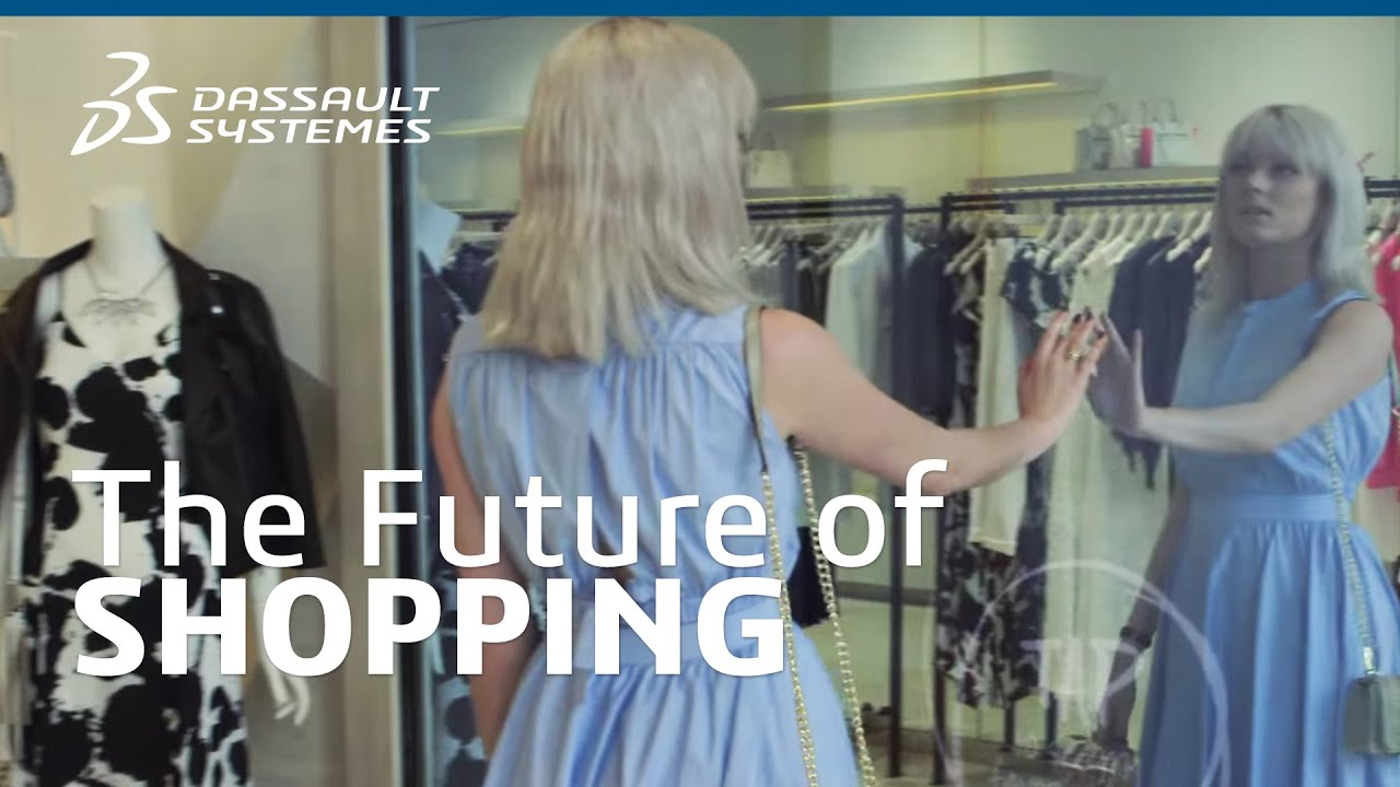 The Future Of Shopping Dassault Syst 232 Mes Youtube