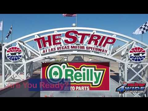 Don't miss the first 4-wide pass at The Strip!