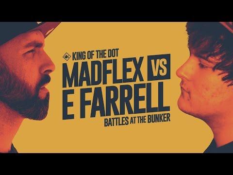 KOTD - Rap Battle - Madflex vs E. Farrell | #BATB1