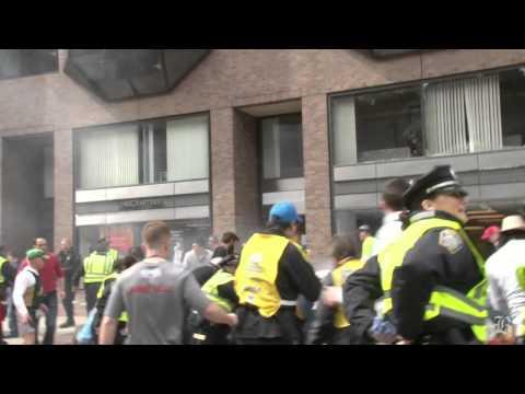 Graphic Footage Boston Marathon Explosion