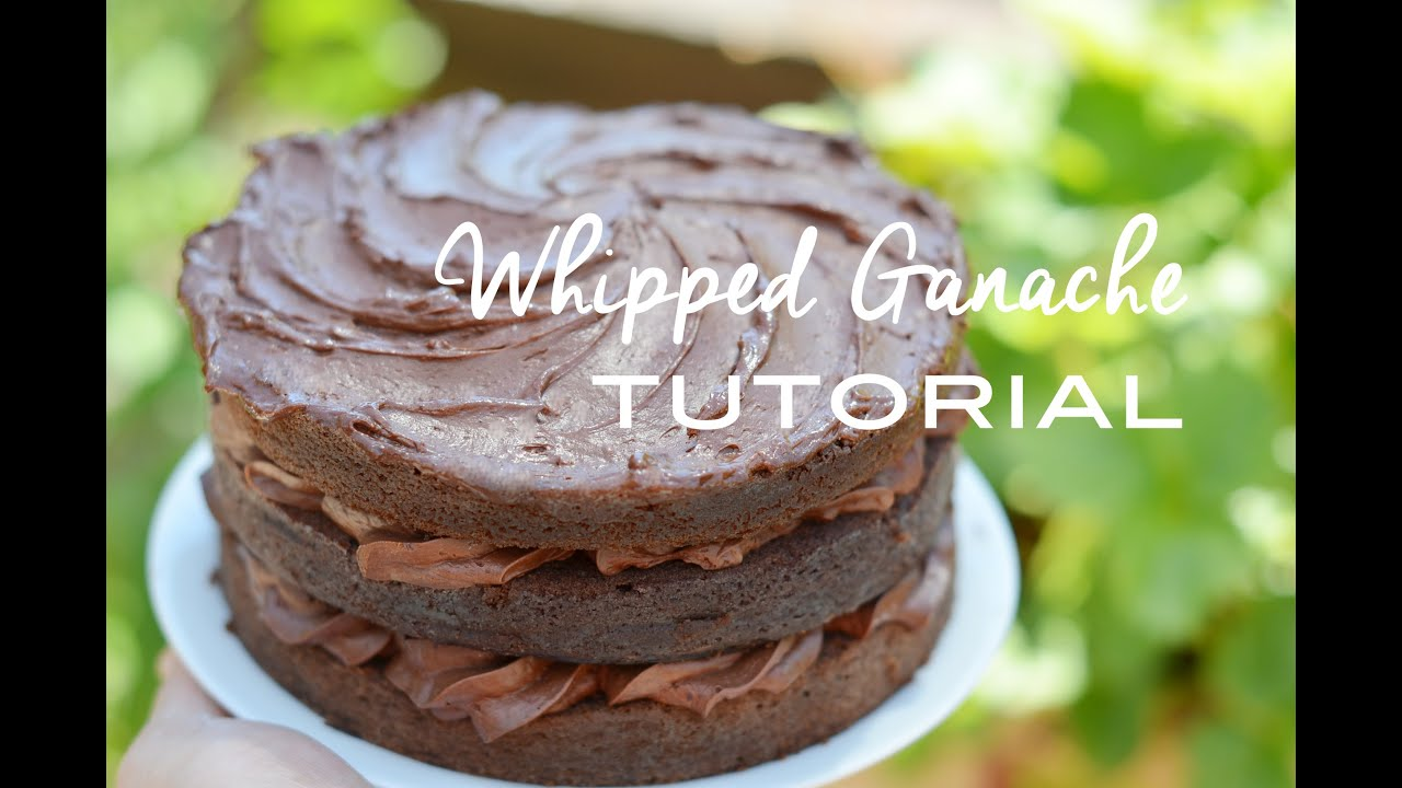 Whipped Ganache Frosting Recipe — Dishmaps