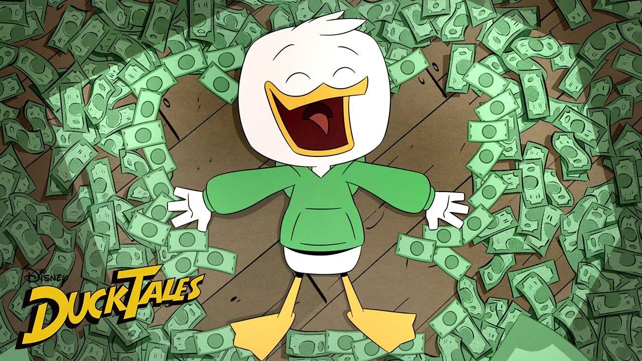 Louie Duck's Best Schemes | Compilation | DuckTales | Disney XD