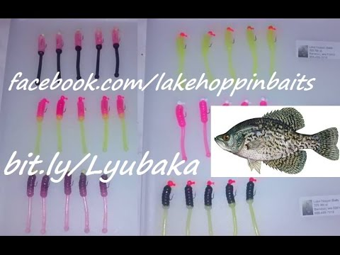 How To Make Two-Color Crappie Bomb Baits