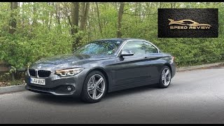 BMW 420 i Cabrio 2017  detailed review, start up , sound and drive