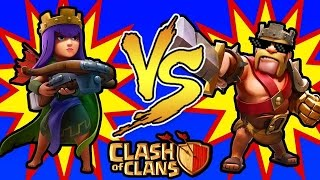 Clash of Clans - Farm Monstro e Meu Rei Mitou !!