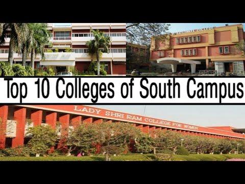 Top 10 Colleges of South campus of DU| DU colleges Ranking| DU admission 2019