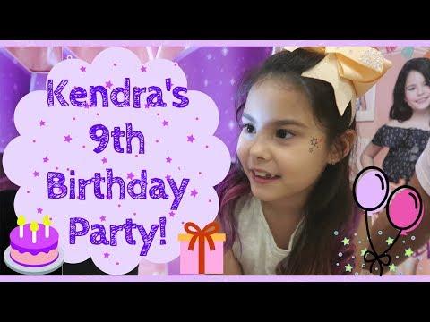 Kendra's 9th Birthday Party