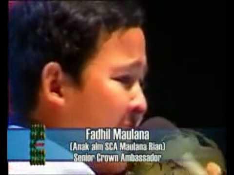 SCA Fadhil Maulana Anak Alm