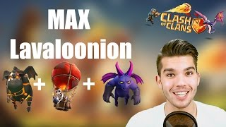 CLASH OF CLANS: MAX Lavaloonion gegen meine Base ✭ Let's Play Clash of Clans [Deutsch/German HD]