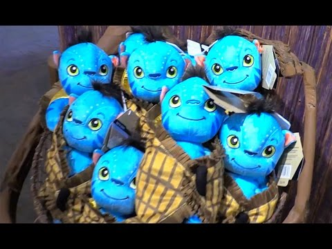 Windtraders merchandise & store tour in Pandora - The World of Avatar, Walt Disney World