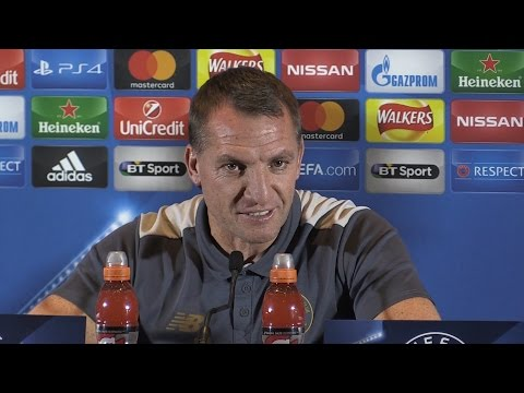 Brendan Rodgers Full Pre-Match Press Conference - Manchester City v Celtic - Champions League