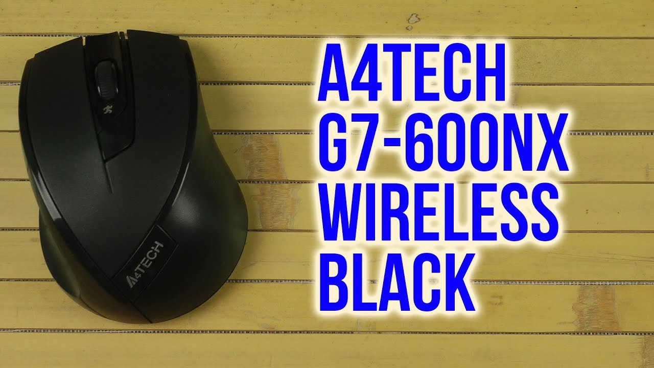 New Driver: A4Tech G7-600NX Mouse