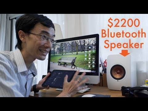Unboxing $2200 Bluetooth Speakers: KEF LS50 Wireless Speaker