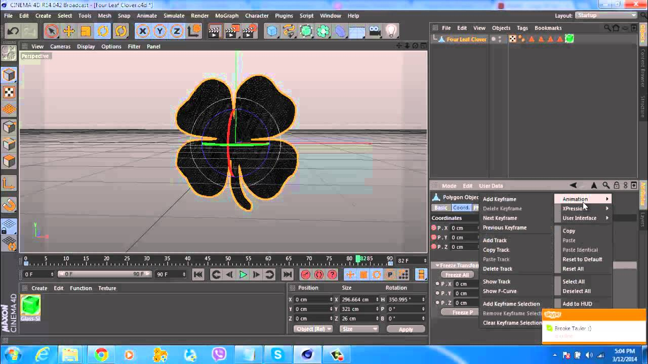 how to perfect rotation settings for loop video in cinema 4d( short  tutorial)