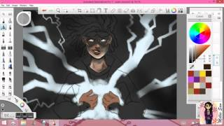 Static Shock Speedpaint