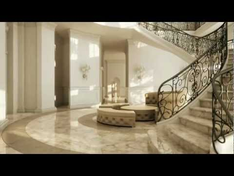 Palace like interiors youtube for Palatial home designs
