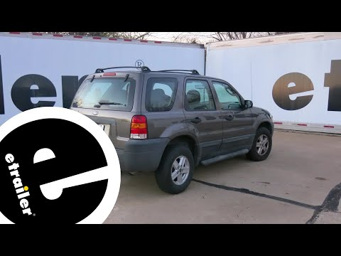 Rear View Safety Backup Camera System Installation - 2005 Ford Escape - etrailer.com