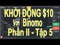 BINOMO - tùy chọn nhị phân, phương pháp 3 x 3 với tk $10 bạn cũng có thể chiến thắng