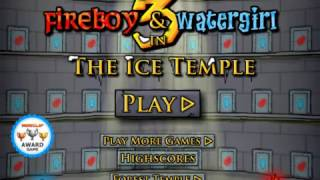 Fireboy and Watergirl 3: The Ice Temple Gameplay Walkthrough (Part 1)