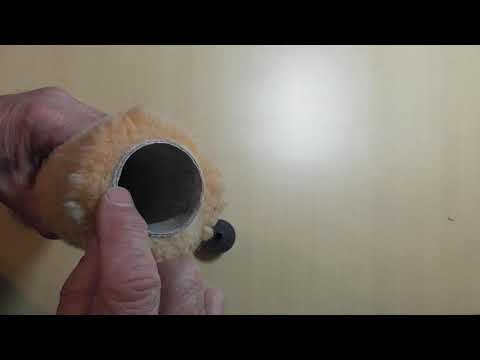 Using a Dandy cleaner with a stick or spindle roller sleeve movie