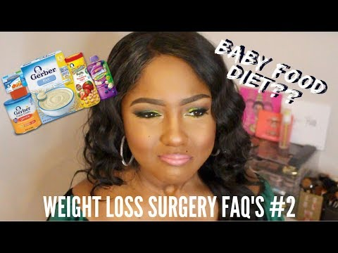 I ate BABY FOOD to lose weight! Weight Loss FAQ #2