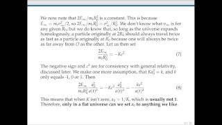 AST121 - Basic Newtonian Cosmology