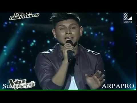 The Voice Luis Alcazar Llama por favor La Voz Perú 2015 ARPAPRO