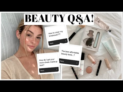 Answering Your Beauty Questions! Q&A
