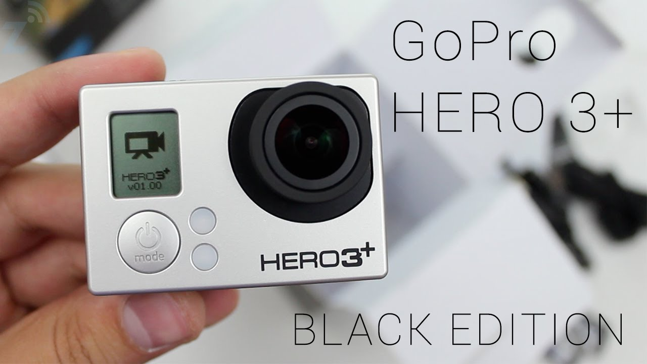 new gopro hero 3 black edition unboxing youtube. Black Bedroom Furniture Sets. Home Design Ideas
