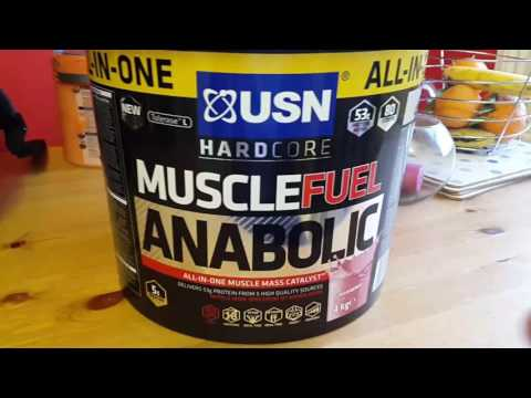 USN Muscle Fuel Anabolic Protein Powder REVIEW