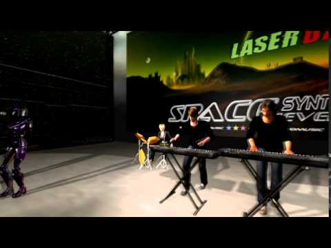 LASERDANCE -  MARS INVADERS  ( Virtual Concert)