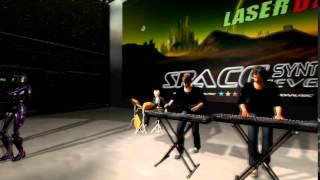 LASERDANCE -  MARS INVADERS  ( Virtual Concert)