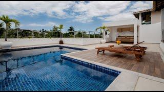 luxo piscina 4k casa salvador praias
