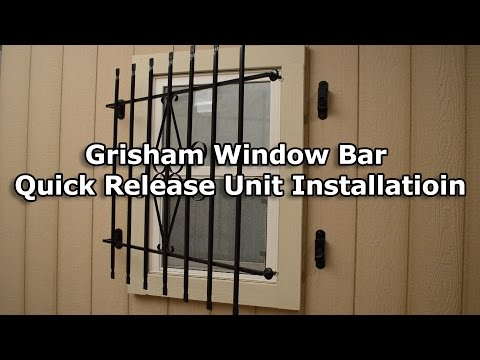 How to Install a Grisham Window Bar Quick Release Unit