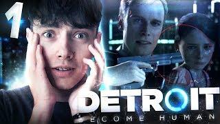 NAJGORSZY POCZĄTEK 😱 - Detroit: Become Human #1 | JDabrowsky