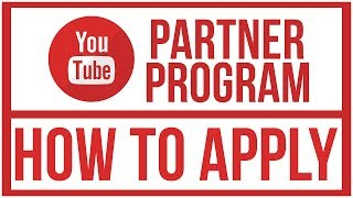 Video How To Apply To The New YouTube Partner Program - New Requirements download MP3, 3GP, MP4, WEBM, AVI, FLV September 2018