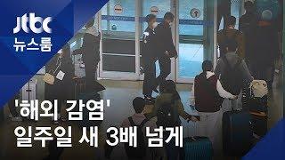 '해외 감염' 일주일 새 3배↑…유학생 많은 강남 3구 '비상' / JTBC 뉴스룸