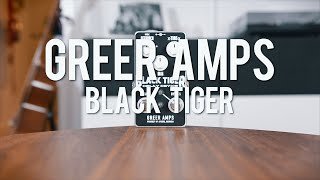 Greer Amps Black Tiger Delay Device demo