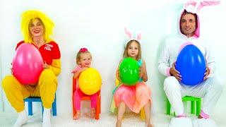 Как зайка делай Хлоп-Хлоп - Детская песня. Песни для детей от Майи и Маши