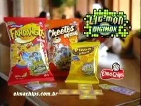 Comercial Elma Chips - Lig Mon Digimon