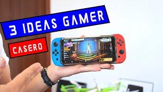 3 IDEAS GAMER - COMO HACER UNA NINTENDO SWITCH CASERA