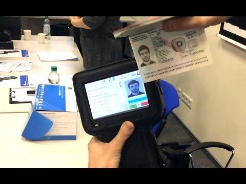 BPT500M - мобильный терминал для автоматической проверки паспортов