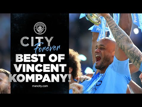 The best moments of Vincent Kompany!  |  Forever city