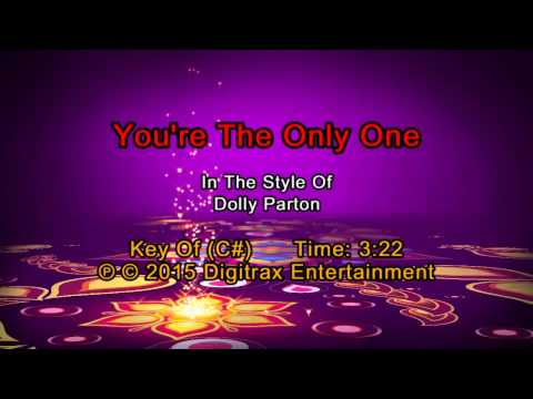 Dolly Parton - You're The Only One  (Backing Track)