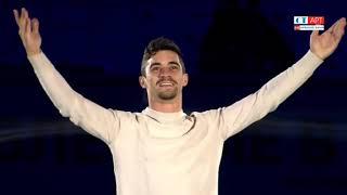 Шоу Влюбленные в фигурное катание Номер бронзового призера олимпиады испанца Хавьера Фернандеса