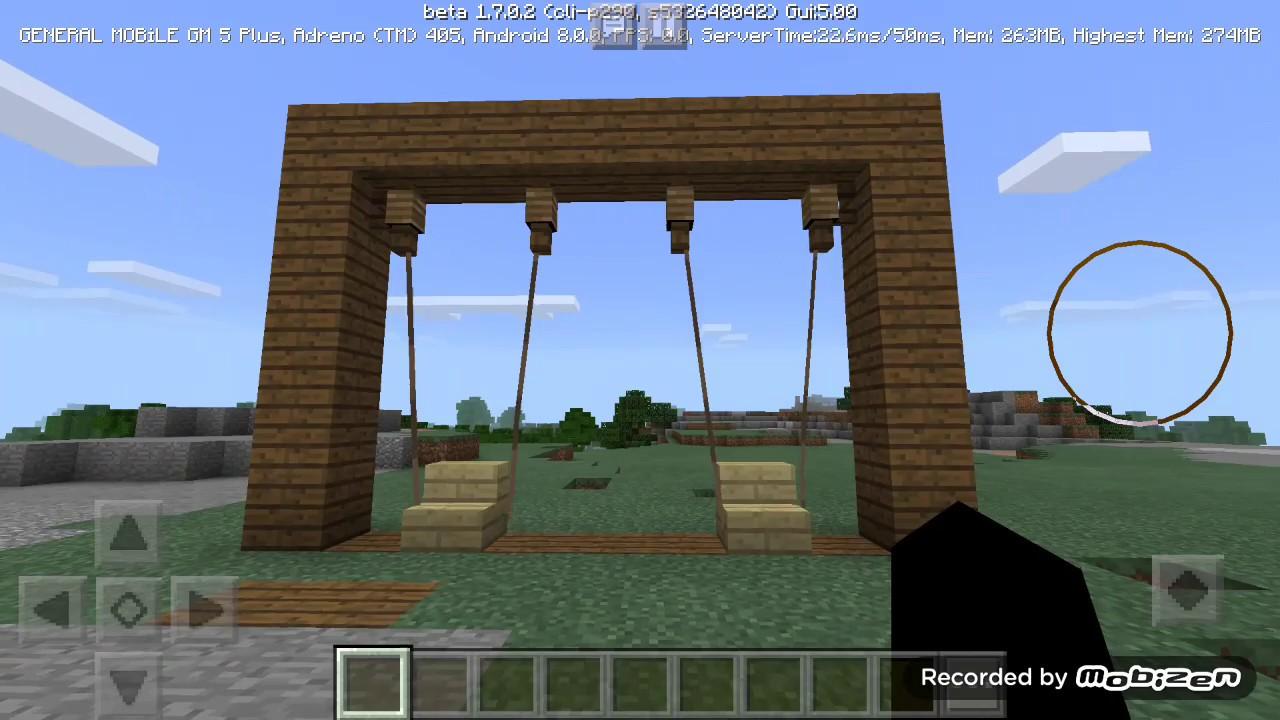 Download Minecraft Salıncak Yapımı