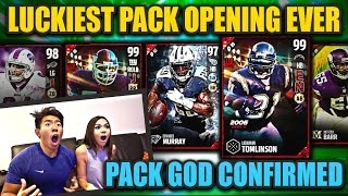 PACK GOD CONFIRMED! GREATEST PACK OPENING EVER! MADDEN 17 ULTIMATE TEAM
