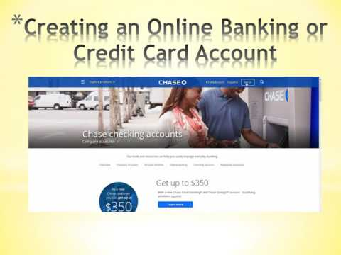 Online Banking, Taxes Online, and Credit