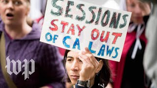 Why Trump's administration is suing California