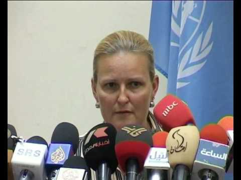 MaximsNewsNetwork: SUDAN: HUMANITARIAN AID & FOOD: UN'S LISE GRANDE
